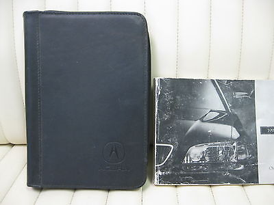 1997 Acura TL Car Owners Instruction Book Glove Box Manual