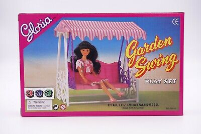 Gloria,Barbie Doll House Furniture/(98016) Garden Swing Set