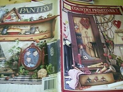 Country Primitives Painting Book #7-Thomas-Christmas/Snowmen/Santas/Candles/Jams
