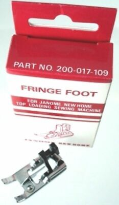 Janome Sewing Machine Fringe Foot New