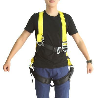 Full Body Tree Carving Fall Protection Rock Climbing Rappelling Harness Gear