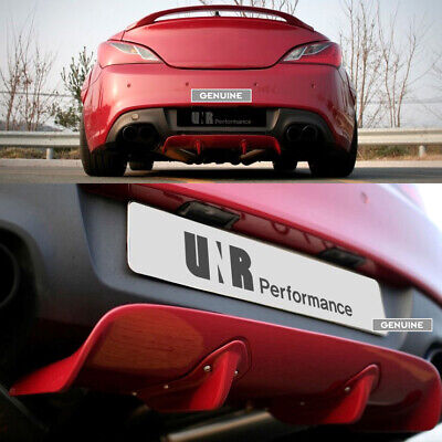 Length Adjustable Rear Diffuser for Hyundai Genesis Coupe 2009+
