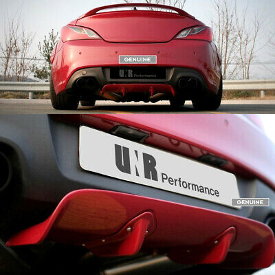 SEQUENCE Rear Mini Diffuser for Hyundai Genesis Coupe BK1 & BK2 [!!SALE!!]