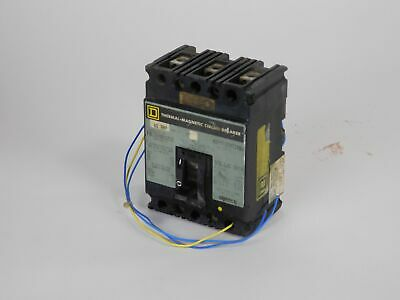 Square-D Thermal-Magnetic Circuit Breaker FAL360601212