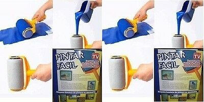 Brand New As-Seen-On-TV Easy-Paint Refillable Paint Rollers Paint