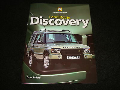 Land Rover Discovery By Dave Pollard Haynes Enthusiast Guide Hardback 2009 New