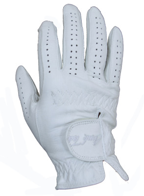Mark Todd Leather Riding/Show Gloves - White