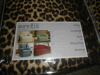 Leopard Print 3 Seater SureFit Stretch Printed Couch cover