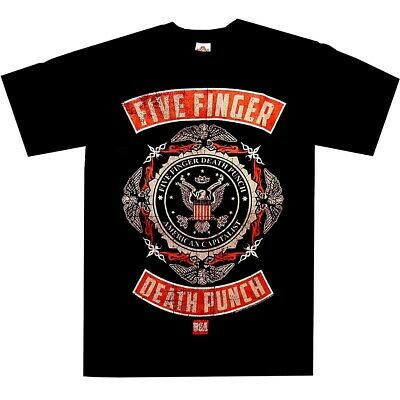 Five Finger Death Punch Roughed Up Shirt S M L XL Official T-Shirt Metal Tshirt