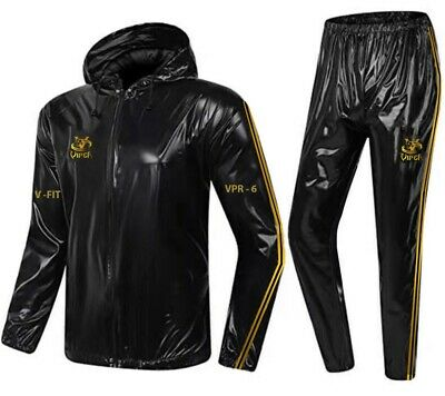Heavy Duty Pro Quality Sauna Sweat Suit For Boxing Weight Loss Fitness Rugby