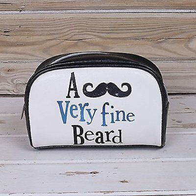 The Bright Side Wash  Bag - A Very Fine Beard- Stocking filler- Gift