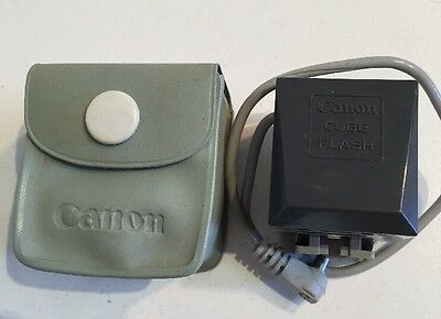 Vintage Canon Cube Flash Adapter Japan