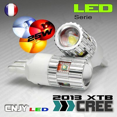 2 Ampoule 5Led Cree Cnjy 25W T20 7443 W21/5W Stop/Veilleuse Auto Camion 12V 24V