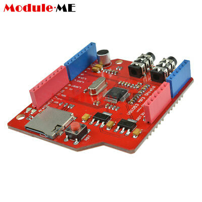 NEW VS1053B MP3 Music shield board Module with TF card slot For Arduino UNO R3 M