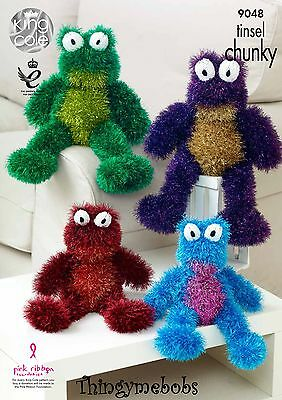King Cole 9048 Frogs Original Knitting Pattern - Tinsel Chunky