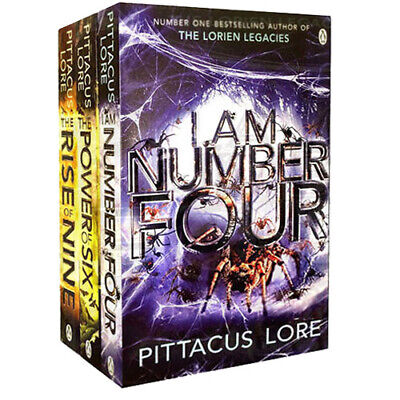 Lorien Legacies Collection By Lore Pittacus 3 Books Set I Am Number Four,New