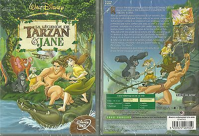 Dvd - Walt Disney : Tarzan Et Jane ( Neuf Emballe - New & Sealed )