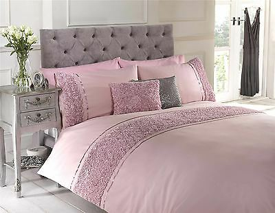 Limoges - Double - Pink Duvet Cover