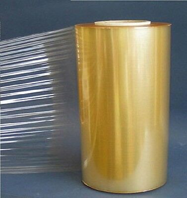 12'' Clear PVC Meat And Food Wrap 300mm x 1500m Autostretch Catering Cling Film