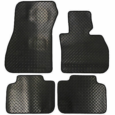BMW X1 (F48) 2015+ Fully Tailored 4 Piece Rubber Car Mat Set