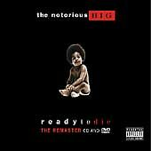 The Notorious Big B.i.g. Ready To Die Cd Dvd Remaster Pa 2004 Rap Hip Hop Live