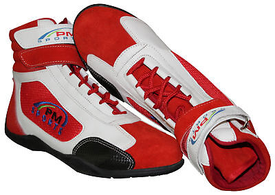 New Kids/junior Karting /Race/Rally/Track Boots with Synthetic Leather & suede