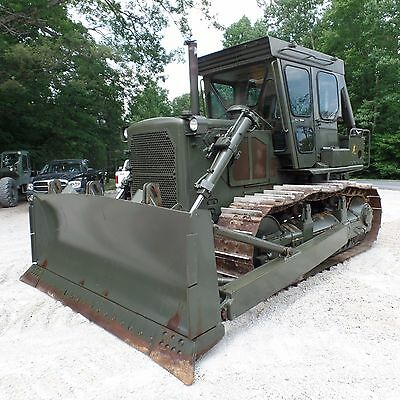 1993 Caterpillar D7G  Dozer with Cab Winch VERY NICE SHAPE LOW HOURS!! Ex Navy