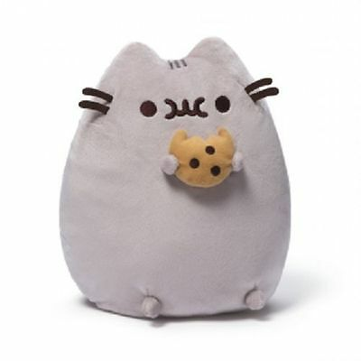 GUND PUSHEEN The Cat Plush With Cookie