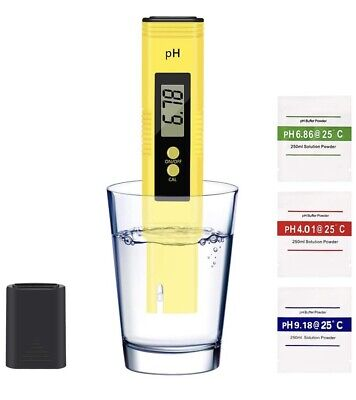 PH Test Digital LCD Meter Water Quality Any Liquid Pool Aquarium Beer Wine Juice