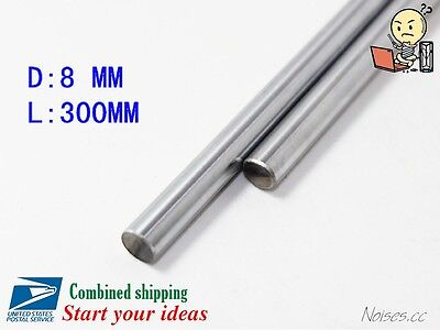 300-500 350 400 450 8mm Linear Motion Shaft Hardened Rod 3D Printer CNC Prusa i3