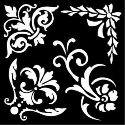 Creative Expressions Ornate Elements That Special Touch Mask/Stencil MASKORNELE