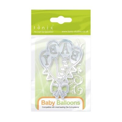 Tonic Studios Baby Balloons Miniature Moment Cutting Die 1267E