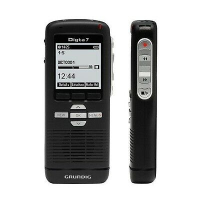 Grundig - Digta 7 Push con software DigtaSoft One, 2 x batterie AAA, NUOVO