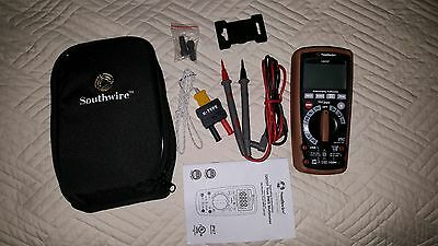 Southwire True RMS Measurements Non-Linear Loads HVAC Digital Multimeter Meter