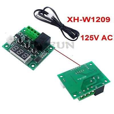XH-W1209 Digital Thermostat Heat Cool Temperature Controller Temp Switch Sensor