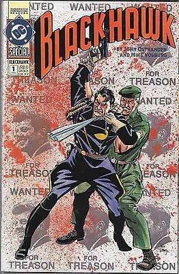 Blackhawk Special #1 (Vf) John Ostrander, War Comic