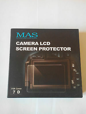 Mas Camera Lcd Screen Protector Pour Canon 7D
