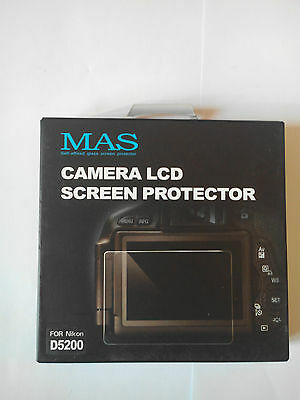 Mas Camera Lcd Screen Protector Pour Nikon D5200