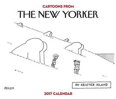 Cartoons from the New Yorker 2017 Day-To-Day Calendar by Conde Nast Daily Book (