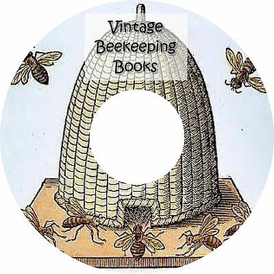 Old Vintage Bee Keeping Books on CD Apiary