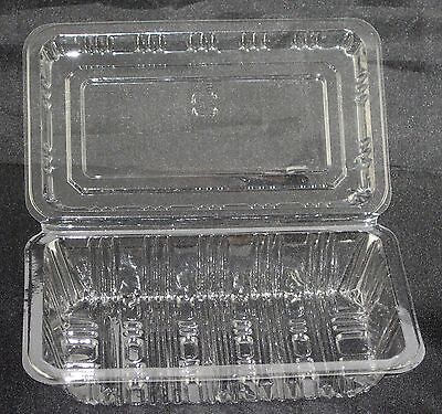 600 X Clear Plastic Sushi Box Container Catering Disposable Takeaway BPA Free