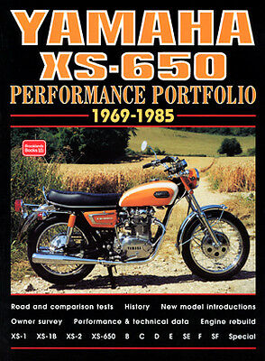 Yamaha XS-650 XS-1 XS-2 XS650 Special 1969-1985 Reviews Buyer's Guide YX6BPP NEW