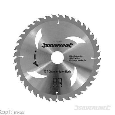 300mm TCT Circular Saw Blades – Pack of 2 units – 40T & +60T 803634
