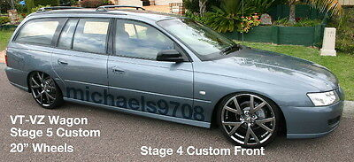 Stg4F Ultra Lows V6 VT VX VY Front Wagon Commodore King Lowered Springs Low