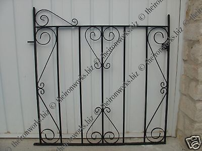 Wrought Iron Small Metal Garden Gate Gates Free Fitings We Build Every Design