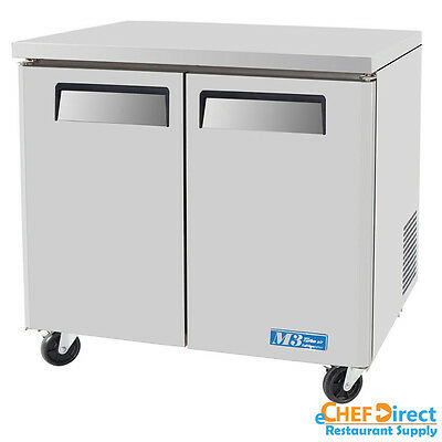 "Turbo Air MUF-36 36"" Two Door Undercounter Freezer"