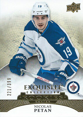 (HCW) 2015-16 Upper Deck Exquisite Collection NICOLAS PETAN 221/499 NHL 02077