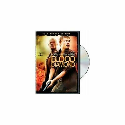Blood Diamond Full Screen Edition On DVD with Leonardo DiCaprio Disc Only X76