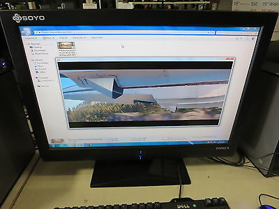 "Soyo Topaz S 24"" M24E14 1920 x 1200 SXGA Wide LCD Monitor with built-in Speakers"