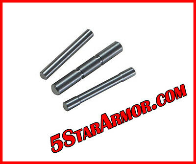 Stainless Steel 3 Pin Set for Glock 17 19 20 21 22 23 26 27 34 35 37 38 Gen 1-4